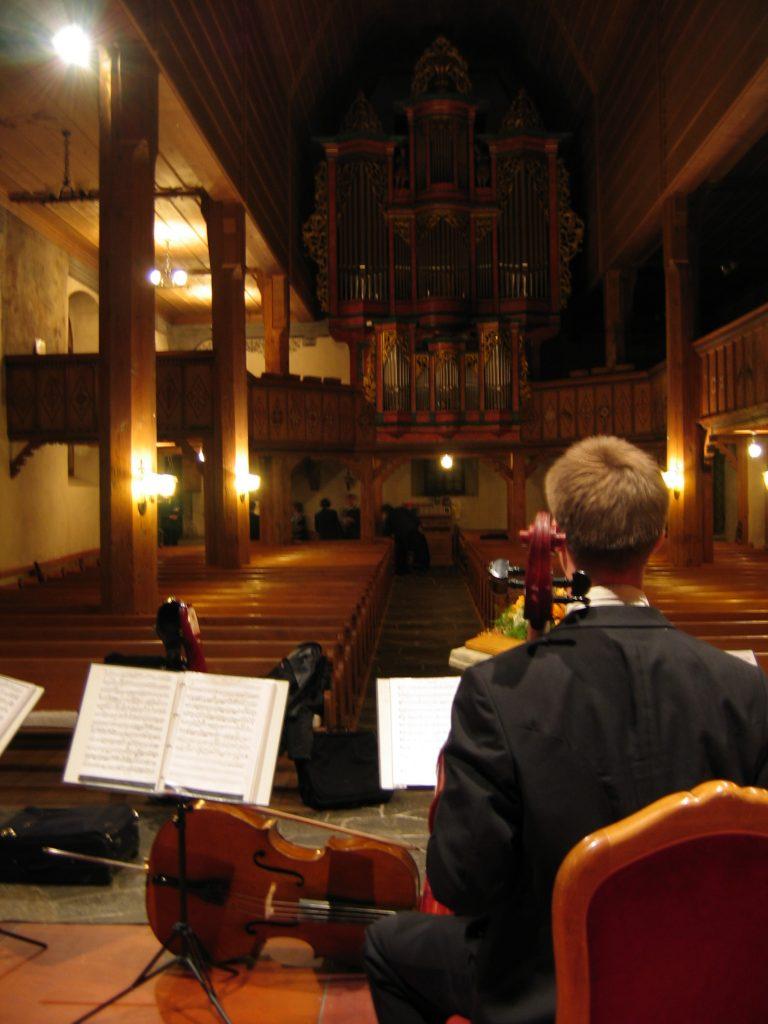 Abschlusskonzert Gstaad 2004